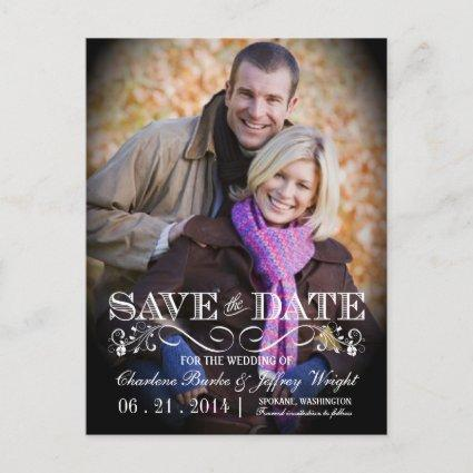 Save the Date Vintage Photo Cards