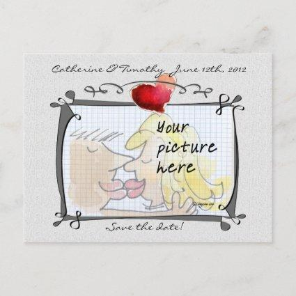 Save the Date Wedding Custom Photo s