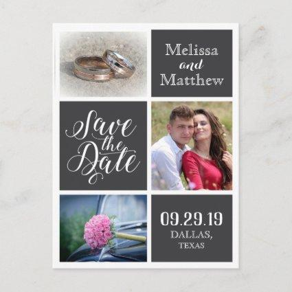 Save the Date, wedding invitation design.