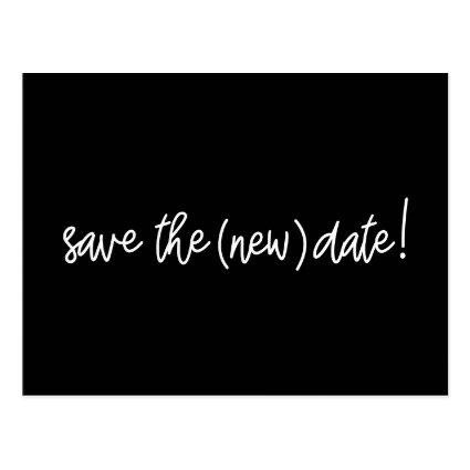 Save the new date Wedding date update