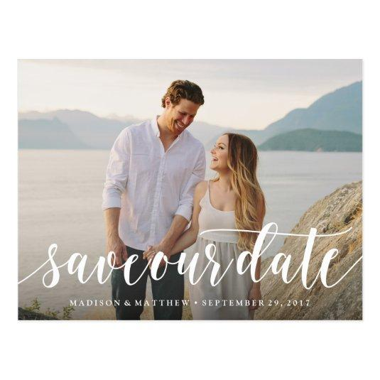 Script Save the Date Cards