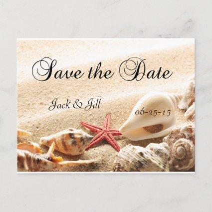 Shells and Starfish Save The Date