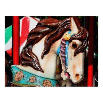 Silent Steed Carousel Horse Photo Cards