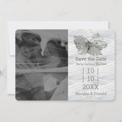 Silver Sand Wedding Save The Date
