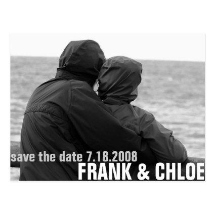 Simple and Cheap Save The Date Annoucement Cards