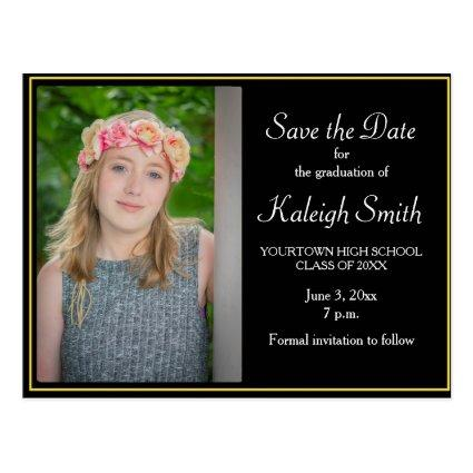 Postcard For Graduation Save The Date Cards Save the Date Cards – Save the Date Graduation Invitations