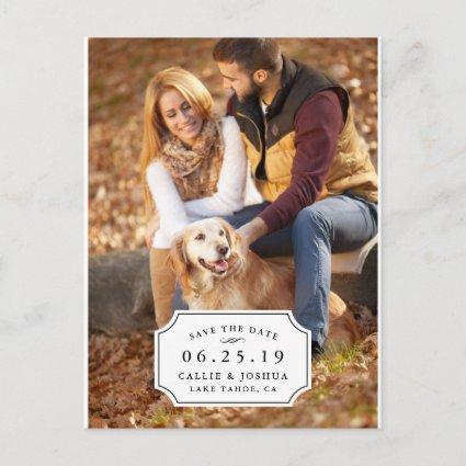 Simple Charm Save the Date Announcement