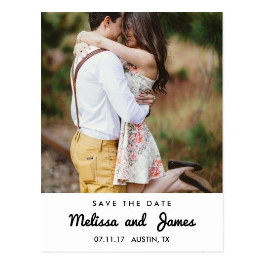 Simple Country Save The Date Announcements Cards