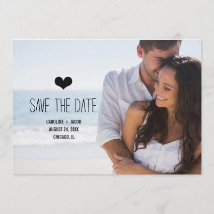 Simple Photo Save the Date