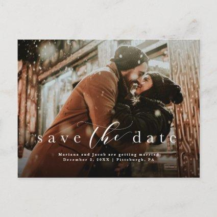 Simple save the date photo
