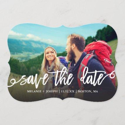 Simple Script Save The Date Photo