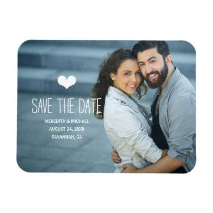 Simple & Sweet | Photo Save the Date Magnet