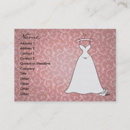 'Simply Lace' Profile Card