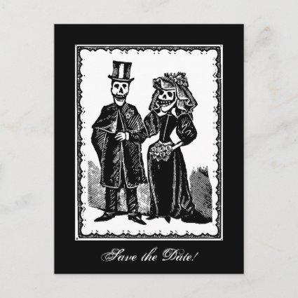 Skeleton Couple (Save The Date)
