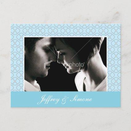 Sophisticated - Tiffany Blue Announcements Cards