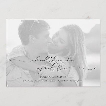 Soulful Love Save the Date Cards