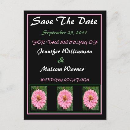 Spring Time Floral Save The Date Wedding Cards