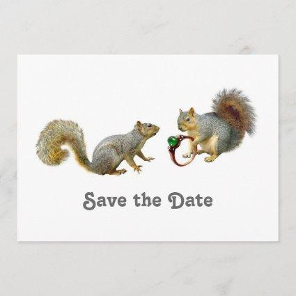 Squirrels Save the Date