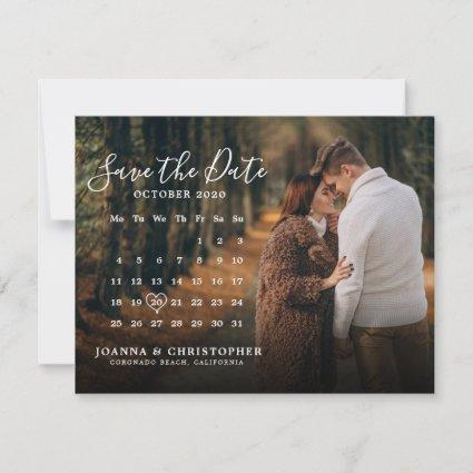 Stylish Handwritten Save the Date Announcement
