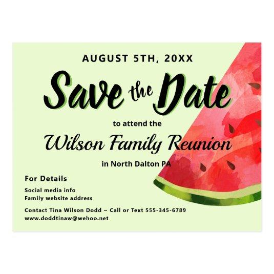 Summer Green Family Reunion Party