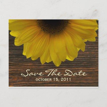 Sunflower & Barnwood Fall