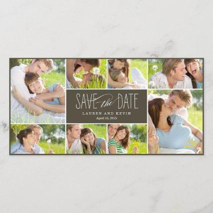 Sweet Memories Save The Date Photo