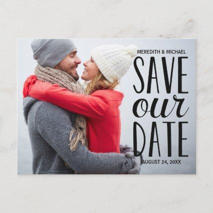 Sweet Whimsy | Photo Save the Date Announcements Cards