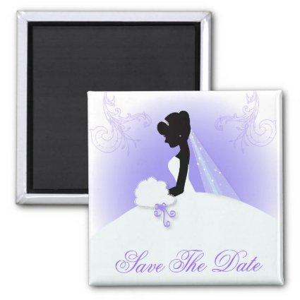 Team bride Wedding gown Bride bridal silhouette Magnets