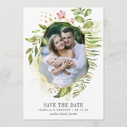 Terrarium | Photo Save the Date Card
