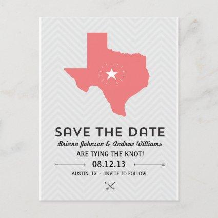 Texas State Save the Date Announcement
