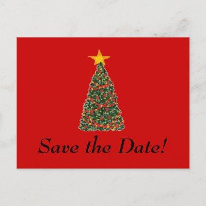 The Christmas Tree, Save the Date! Announcement