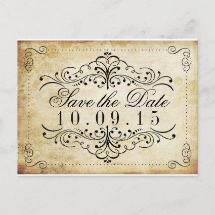 The Ornate Flourish Vintage Wedding Collection Announcements Cards