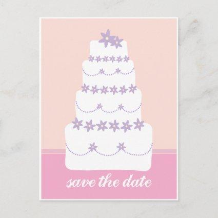 The Wedding Cake-Save The Date Announcements