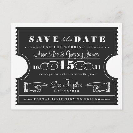 Ticket Save the Date