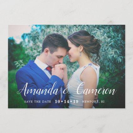 Timeless Love | Photo Save the Date