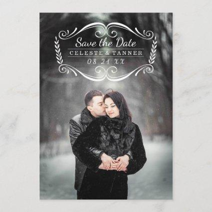 Timeless | Photo Save the Date Card