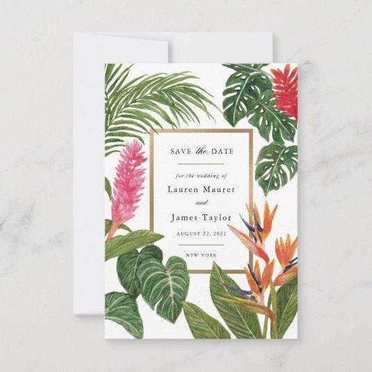 Tropical Dream Save The Date