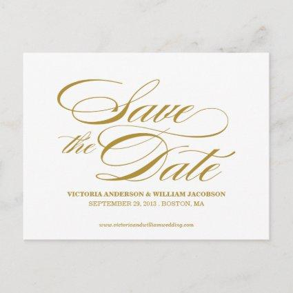 TRULY ELEGANT | SAVE THE DATE Announcements
