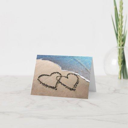 Two Hearts In The Sand Note