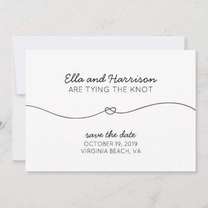 Tying the Knot, Save the Date/Engagement Party Save The Date