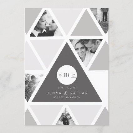 Urban Triangle Overlay | Modern Save The Date