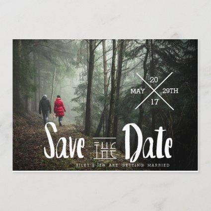 Urban Typography | Save The Date Photo