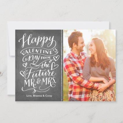 Valentine Future Mr. and Mrs. Photo Save The Date
