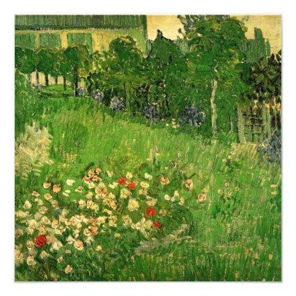 Van Gogh Daubigny's Garden Wedding Invitation