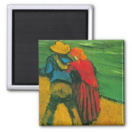 Van Gogh Two Lovers Magnet