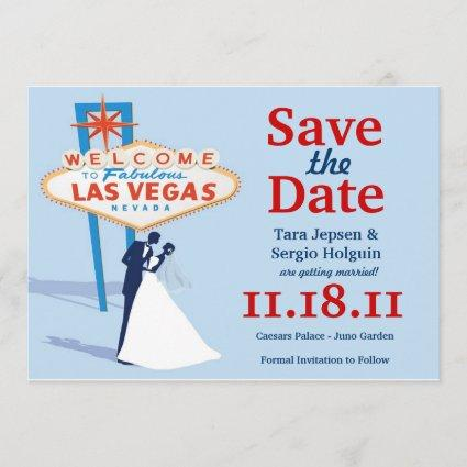 Vegas Save the Date! Save The Date