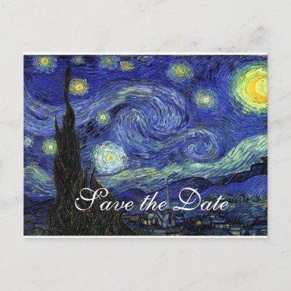 Vincent van Gogh, Starry Night Announcement