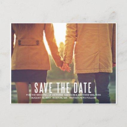 VINTAGE FLAIR | SAVE THE DATE ANNOUNCEMENT