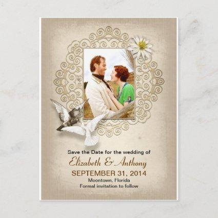 vintage save the date photo s