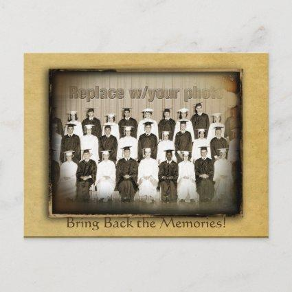 Vintage Save the Date Reunion Announcements Cards